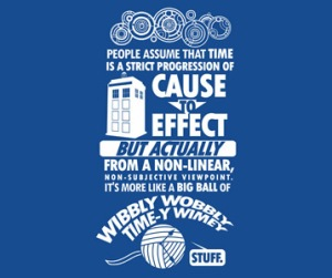 Timey Wimey Dr Who