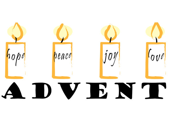 advent-candles-with-messages
